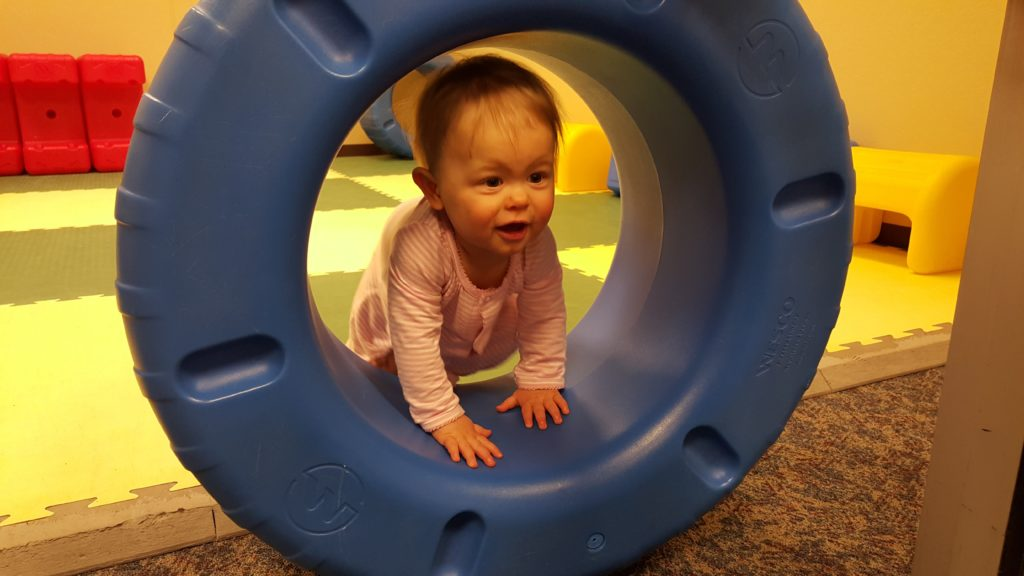 Airport play area