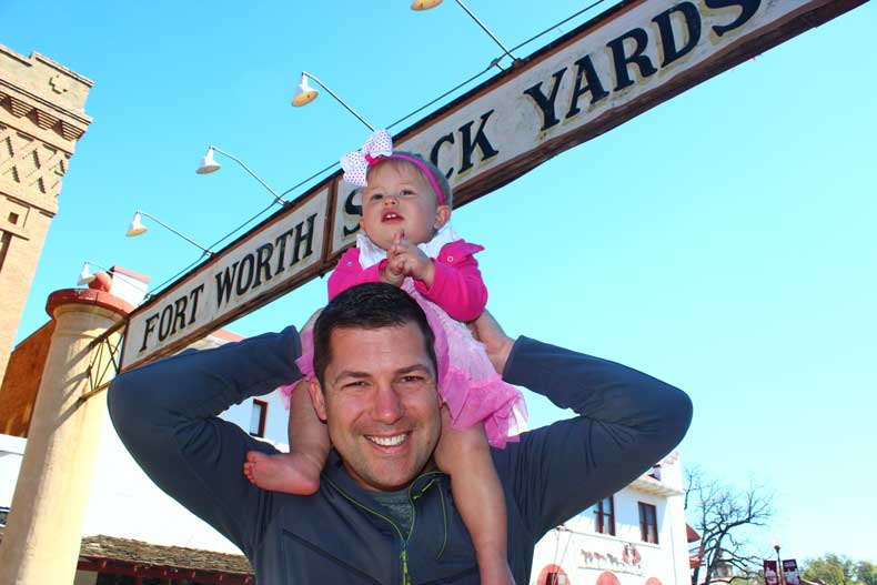 Parenthood and Passports - Fort Worth Stockyards