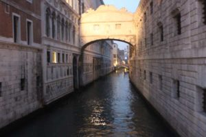 Parenthood and Passports - Bridge of Sighs Venice, Italy