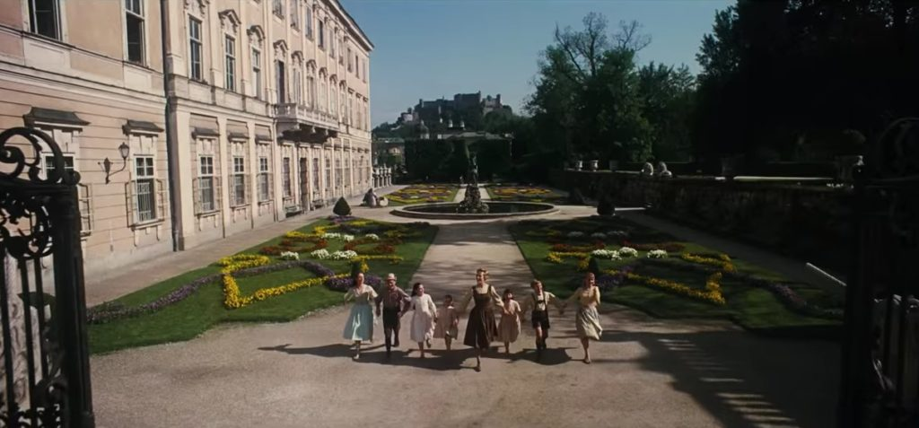 The North steps as seen during Sound of Music.
