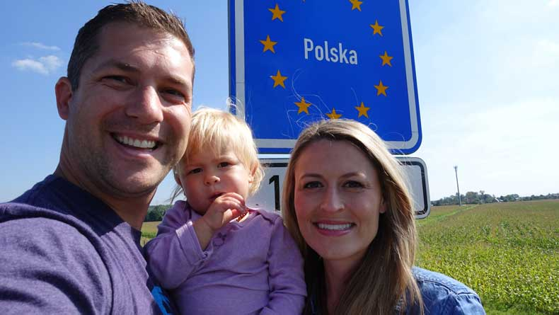 Parenthood and Passports - Driving in Europe