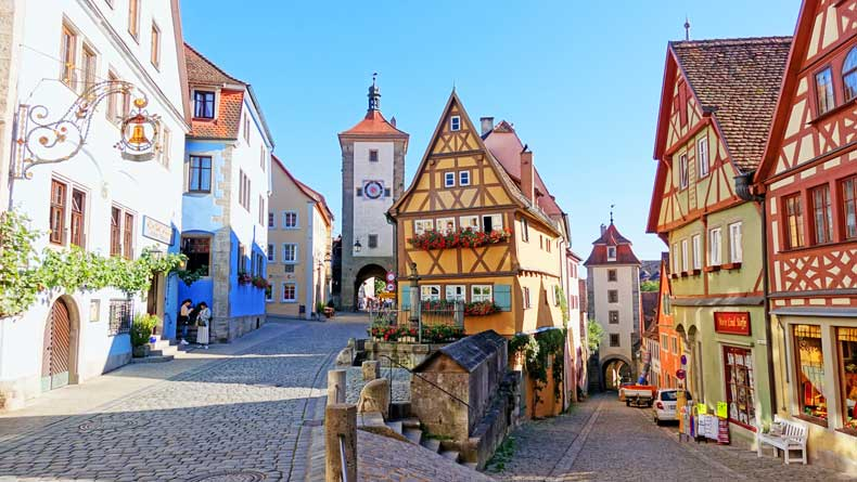 Parenthood and Passports - Rothenburg ob der Tauber Germany
